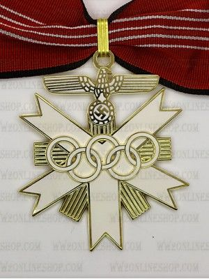 Replica of  German Olympic Decoration 1st Class