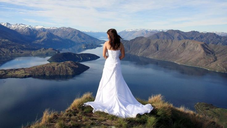 Wedding with a view in the Nelson Lakes district! Nelson, New Zealand #travel #photography #newzealand #beautiful #nelson #wedding #bride #scenery #amazing #view #pretty #beautiful