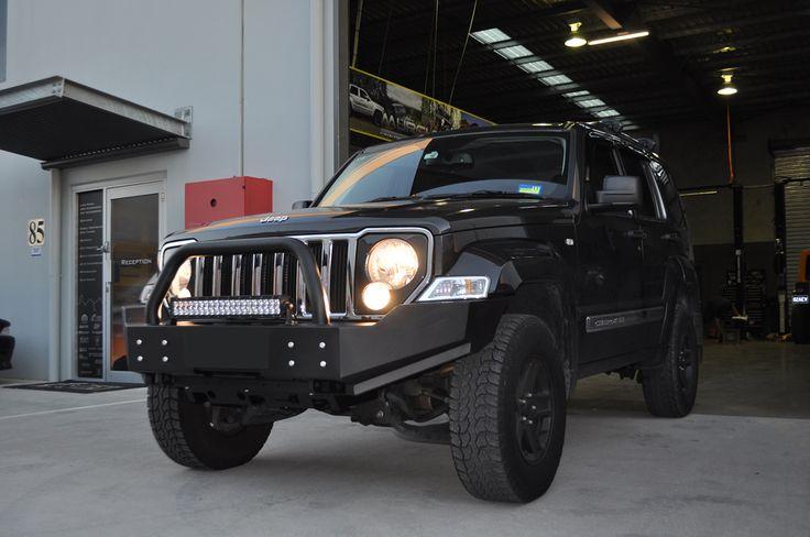 badass jeep liberty kk 2008 pesquisa google jeep 39 s. Black Bedroom Furniture Sets. Home Design Ideas