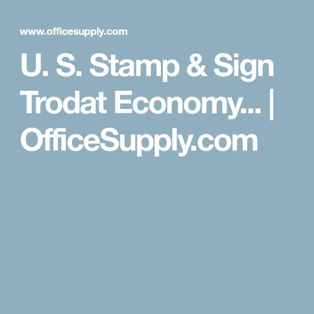 U. S. Stamp & Sign Trodat Economy... | OfficeSupply.com