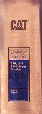 Caterpillar 236  246 Skid Steer Loader Shop Service Repair Manual