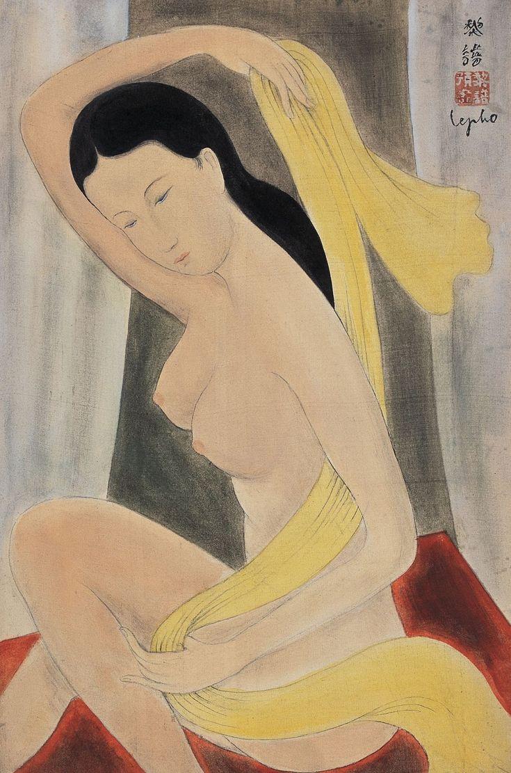 Ле Фо (Le Pho), 1907-2001. Обнаженная