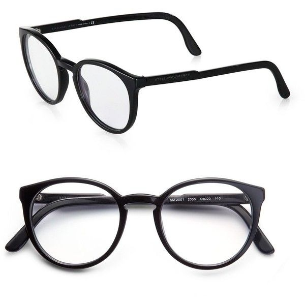 40 best glaseys images on pinterest glasses eye glasses and Cheap Coach Sunglasses Women stella mccartney round optical glasses black 205 liked on polyvore featuring