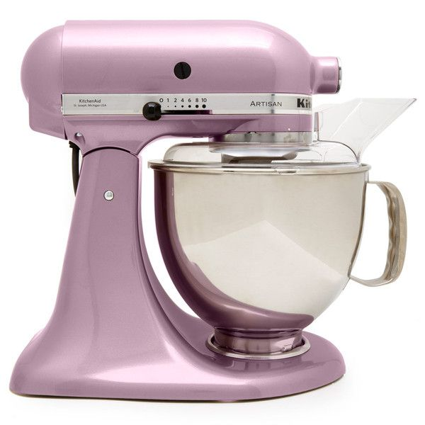 KitchenAid Metallic Pink 4.8L Artisan Food Mixer (860 CAD) ❤ liked on Polyvore featuring home, kitchen & dining, small appliances, kitchenaid small appliances, kitchenaid mixer, kitchen aid small appliances, kitchen aid mixer and kitchenaid
