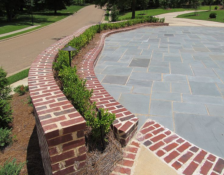 From Rowlock Coping To Herringbone Patterns, When It Comes To Brick, The  Design Possibilities · Herringbone PatternBrick WallsOutdoor ... Home Design Ideas