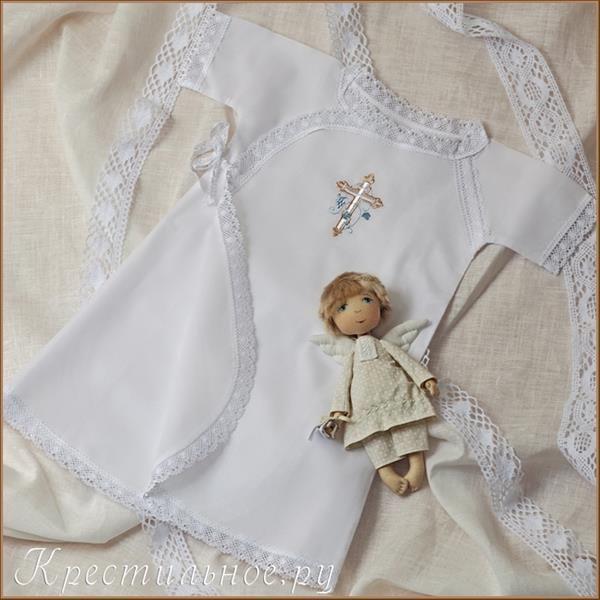 Рубашка детская для крещения