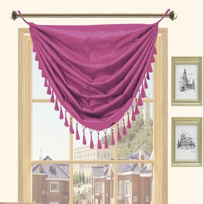 Found it at Wayfair - Holly Faux Silk Grommet Top Curtain Valance