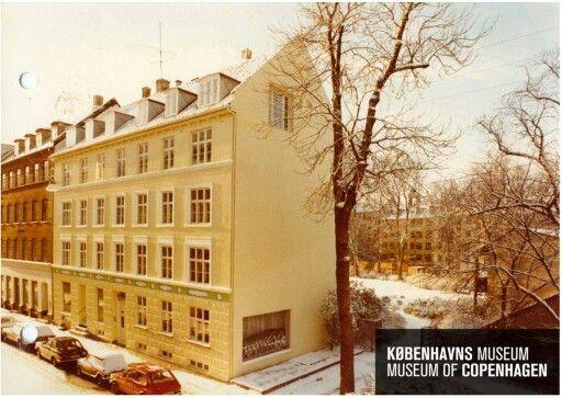 Absalonsgade 14, 1980. Her boede oldefar Peter Hansen i Stuen fra 1. 5. 1914-1.5.1923