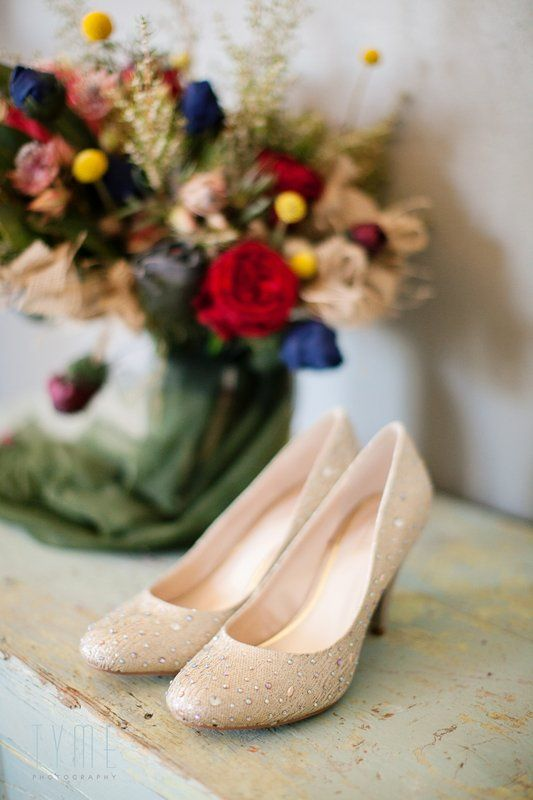 Jeanne & Ruben Luella @ Foschini Gold bejeweled shoes Photo By Tyme Photography