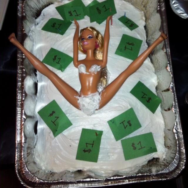 Stripper Barbie Cake Great Ideas Pinterest Barbie