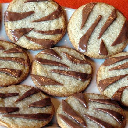 Tiger Stripe Cookies