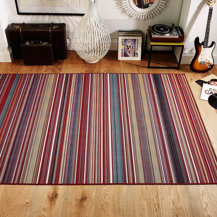 Teppich bunt gestreift  17 besten Teppiche Bilder auf Pinterest