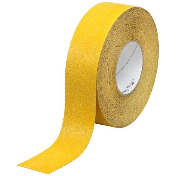 "3M 630-B Safety-Walk (Yellow) Slip-Resistant General Purpose Tapes and Treads, 2"" x 60' - di Jual Online dg Harga Murah.  This mineral-coated, slip-resistant material features a highly durable surface. Low-profile design reduces trip hazard.  http://tigaem.com/tape-anti-slip/1359-3m-safety-walk-slip-resistant-general-purpose-tapes-and-treads-630-b-safety-yellow-2-x-60-.html  #safetywalk #antislip #3M"
