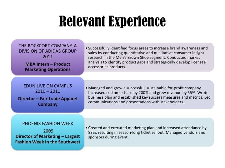 Best Resume  Mba Marketing Images On