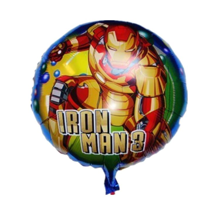 QGQYGAVJ New 1pcs Strong Iron Man Balloons Birthday Party