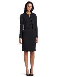 Kasper Womens Melange Jacket Dress