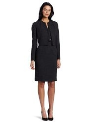 Kasper Womens Melange Jacket Dress