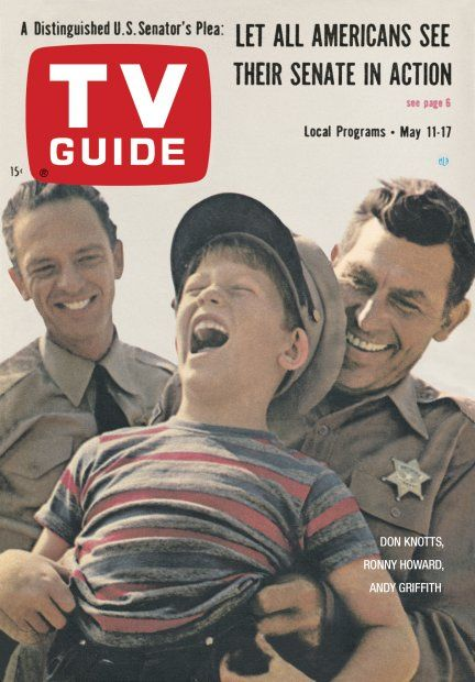 TV Guide: May 11, 1963 - Don Knotts, Ronny Howard and Andy Griffith.  Love The Andy Griffith Show!