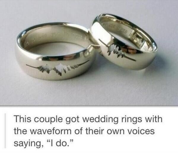 u003c3 meaningful wedding rings
