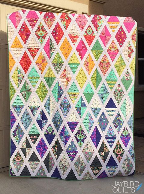 25 Best Ideas About Diamond Quilt On Pinterest Quilt