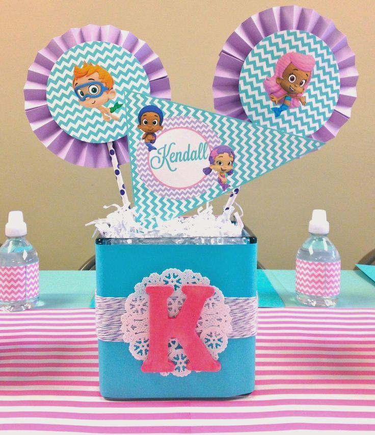 Karo's Fun Land: Bubble Guppies 2nd Birthday Party