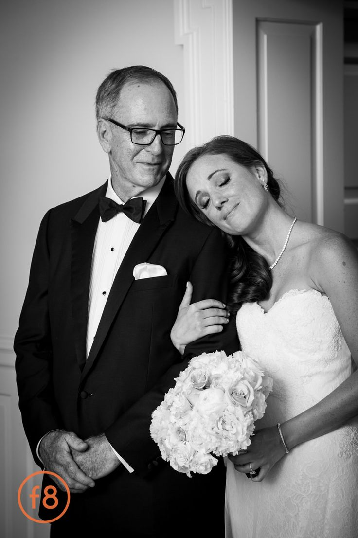 Sweet Moment Between The Bride And Her Father Before Walking Down Aisle Dallas Wedding