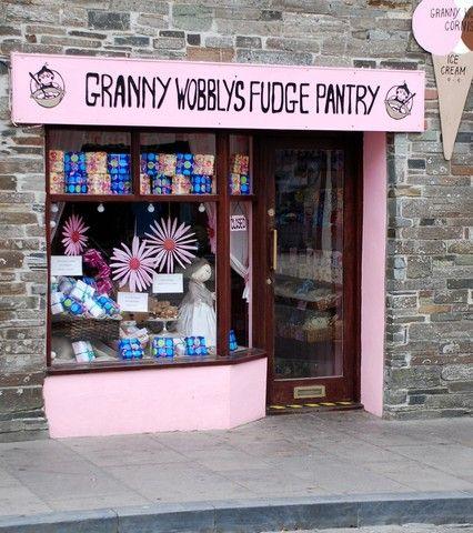 Ye Olde Tintagel Fudge Shoppe.  I would spend a few days visiting this shop.  Photo:wildliferanger.com