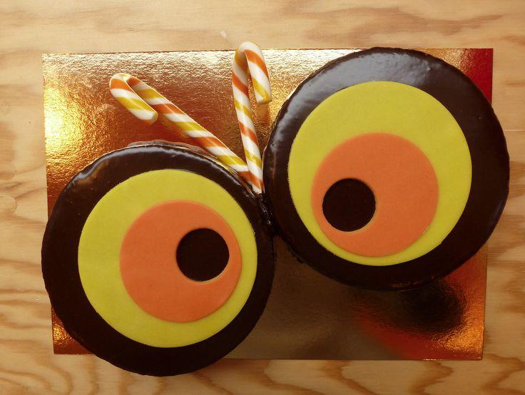 Insecte de la jungle by Pâtisserie Chez Bogato 7 rue Liancourt, Paris 14e. Ouvert du mardi au samedi de 10h à 19h. Tel. 01 40 47 03 51 Cake Design Birhtday cake Gâteau d'anniversaire