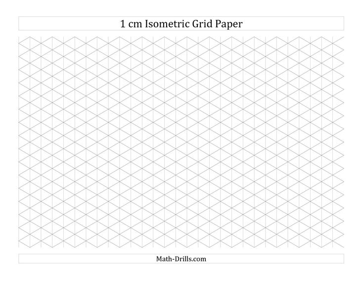 9 best papirark til mønstertegning images on Pinterest Graph - free isometric paper