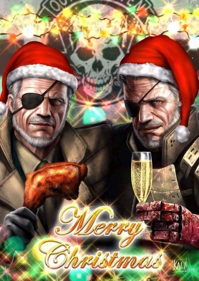 Ishmael & Ahab Merry Christmas from Fox Hound & Outer Heaven | Some