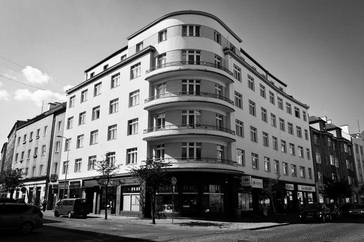 Kamienica Hundsdorffów, ul. Starowiejska 7/ róg Abrahama – MODERNIZM GDYNIA Szlak modernizmu