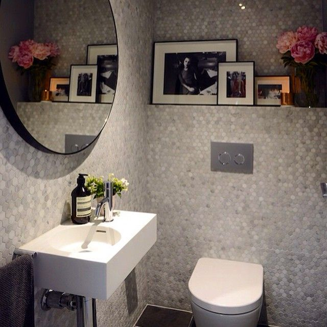 Darren and Dea's powder room was a hit with the judges on The Block. The Neo mini basin worked a treat and we love the hexagon mosaics. @reecebathrooms @theblock9 #australia#arch#basin#bathroom#bestbathroom#basindesign#bestdesign#design#darrenanddea#home#houzz#interior#interiordesign#lux#luxury#luxurybathroom#smallbathroom#neo#omvivo