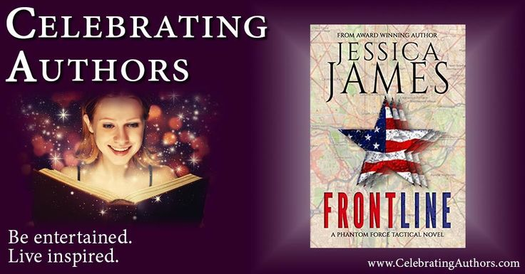 """""""A compelling, action-packed novel that will continue to entertain until the satisfying ending."""" -Amazon reviewer on Front Line by Jessica James - """"It's full of suspense..."""" FRONT LINE by @jessicajames #Thriller"""