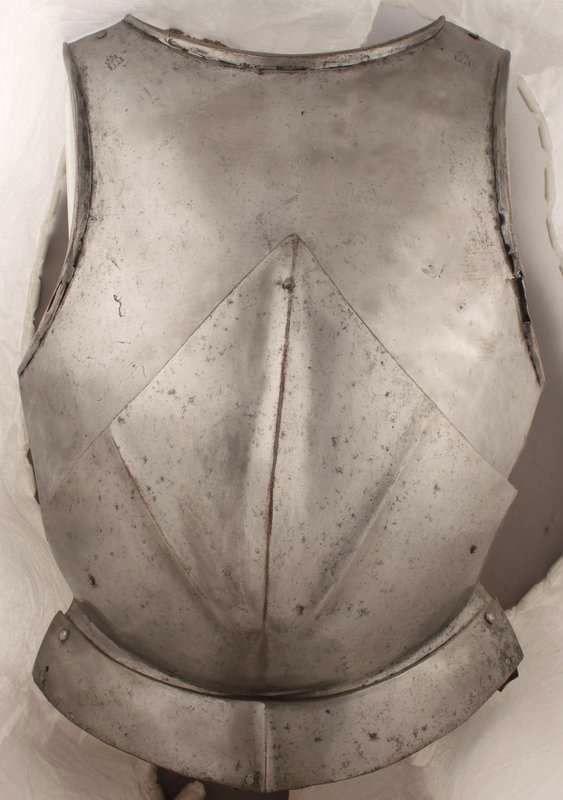 Italian-made Infantry Breastplate c.1470 Churburg 35