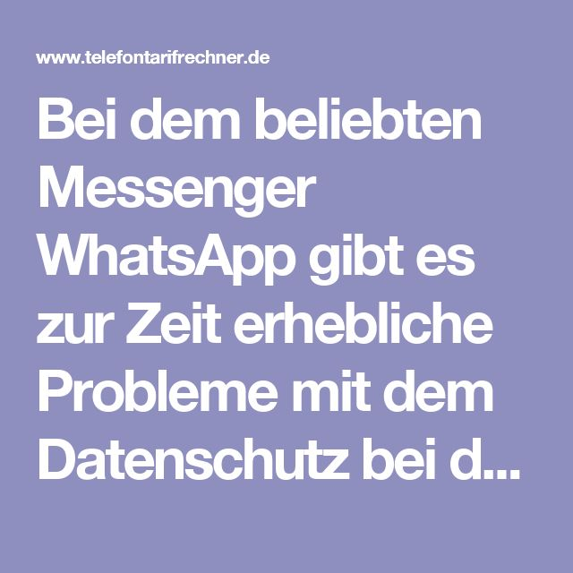 Bei dem beliebten Messenger WhatsApp gibt es zur Zeit erhebliche Probleme mit dem Datenschutz bei der Datenweitergabe an Facebook. Dabei wird nun von der Verbraucherzentrale Bundesverband (vzbv) kritisiert, dass WhatsApp persönliche Daten wie Telefonnummern an seinen Mutterkonzern Facebook weiterreichen will. Dafür hat WhatsApp neue Nutzungs- und Datenschutzbestimmungen eingeführt. Nun erhebt die Verbraucherzentrale Klage gegen WhatsApp.