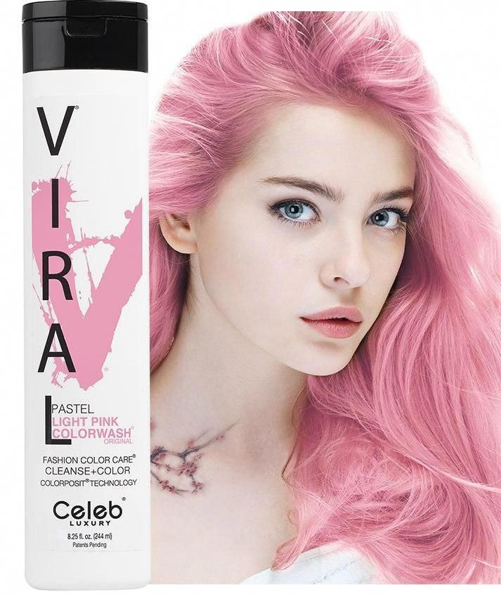 Keep Your Pink Hue Its Prettiest With The Pastel Pink Shampoo