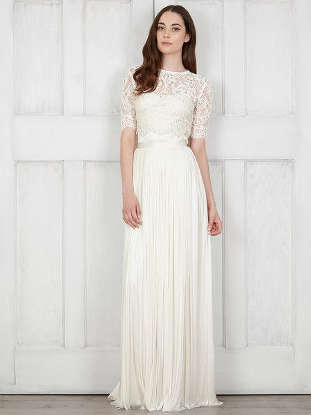 Dasha Top – Catherine Deane -- Create a Catherine Deane wishlist on Pinterest and we'll offer you the chance to win £500 towards your most beloved bridal pieces!
