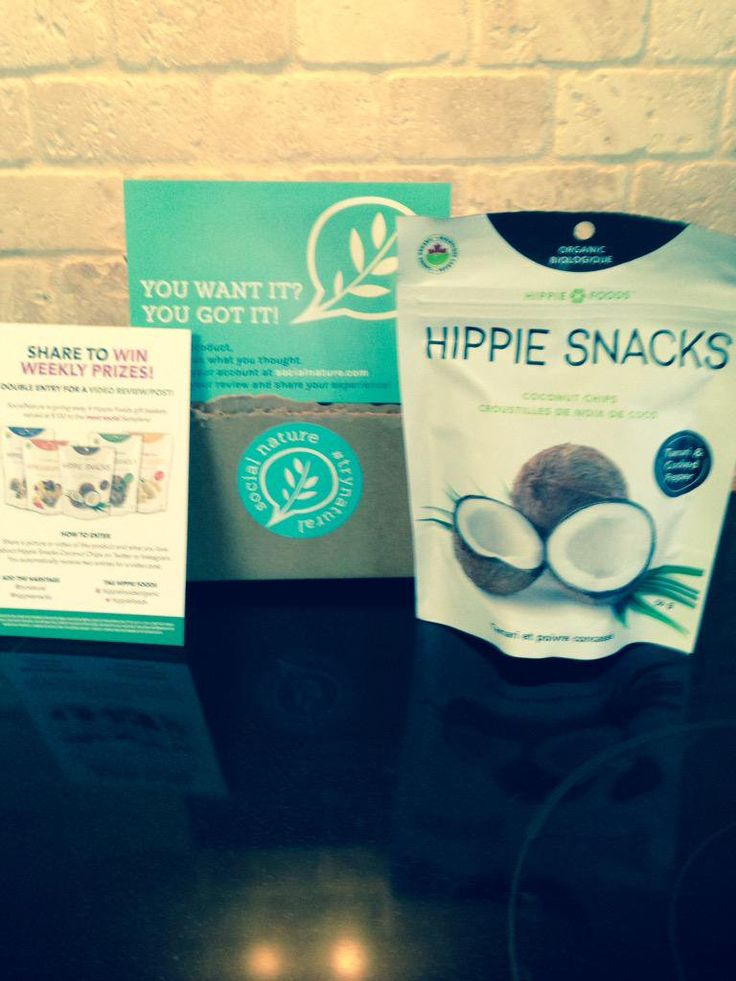 """Nicole Guay on Twitter: """"@HippieFoods @SocialNature Seriously, I love these hippie chips. Can't wait to try other flavor's. Thank you http://t.co/jus7auCHYr"""""""