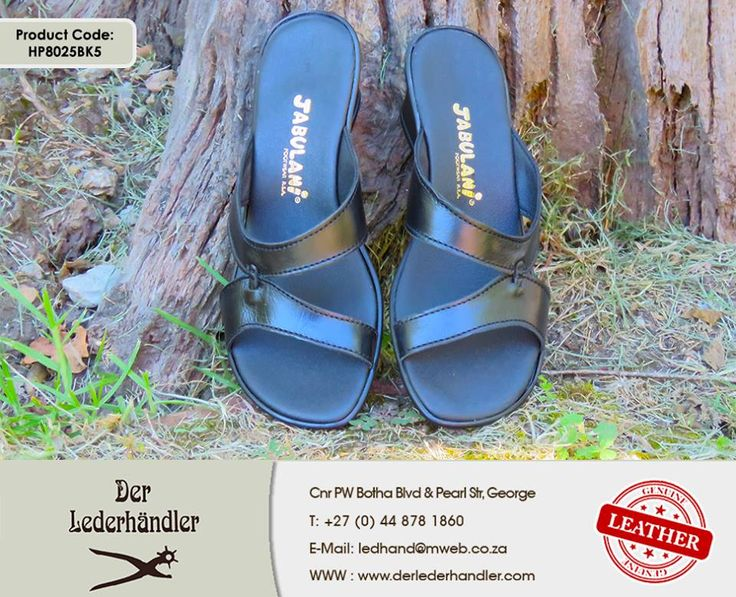 These beautiful Jabulani genuine leather black sandals combine comfort and style. Get yours at any #DerLederhandler factory shop. For more information, enquire now at http://anapp.link/5v3 (Desktop) or http://anapp.link/5v4 (Mobile) or visit our website: http://asite.link/5we . #genuineleather #Jabulani #sandals