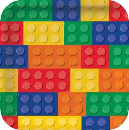 Piatti Lego Block Party