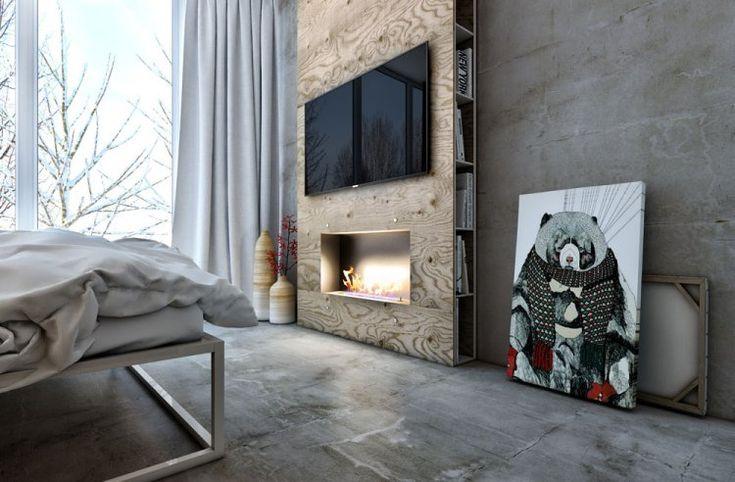 Стильная двухкомнатная квартира для молодой пары выполнена дизайнерами студии Artpartner и находится в Киеве, Украина