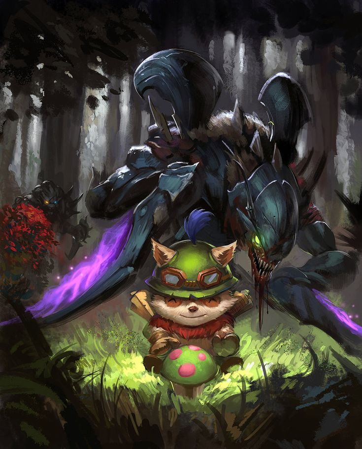 Come into my arms,Teemo!!! by zippo514 on deviantART