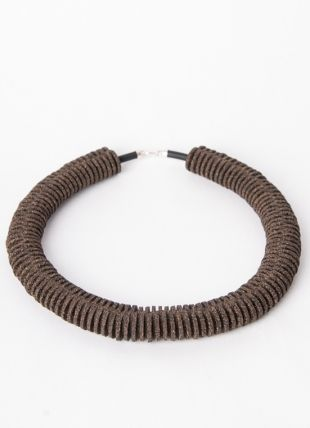 Unmess Short Cork Necklace . Portuguese Independent Brand of Contemporary Jewellery