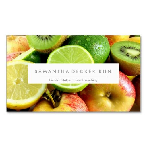 M O D E R N | Nutrition   Health | Business Card