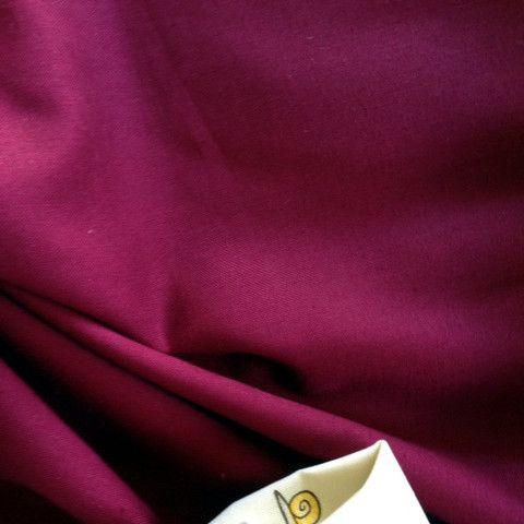 Burgandy Homespun cotton fabric $2.00 #homespun #fabric