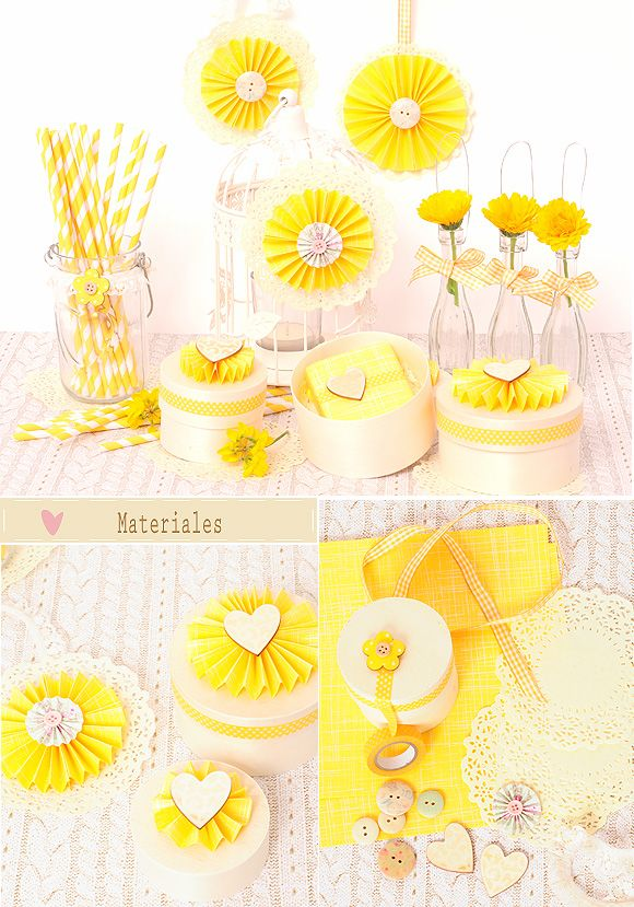 DIY para bodas: como hacer abanicos de papel