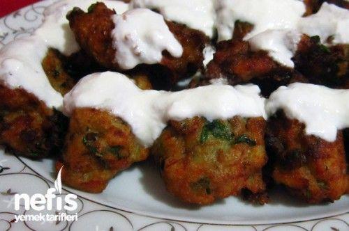Yoğurtlu Patlıcan Köftesi Tarifi