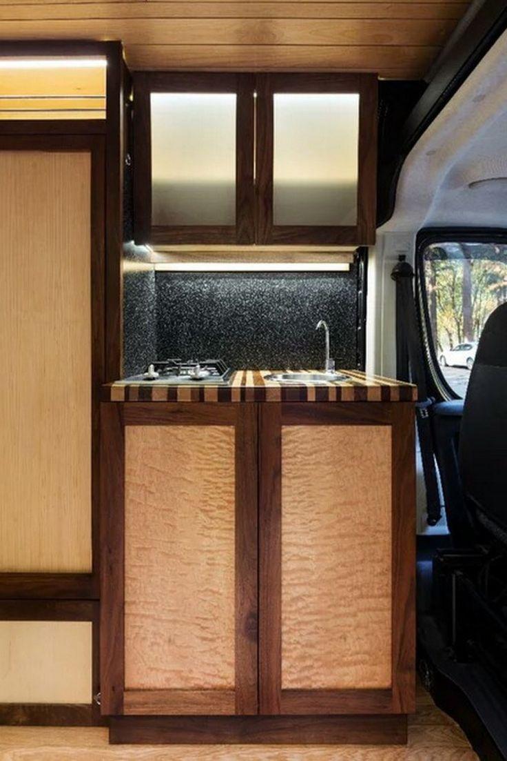 Custom RV Camper Van Stealth Conversion (21