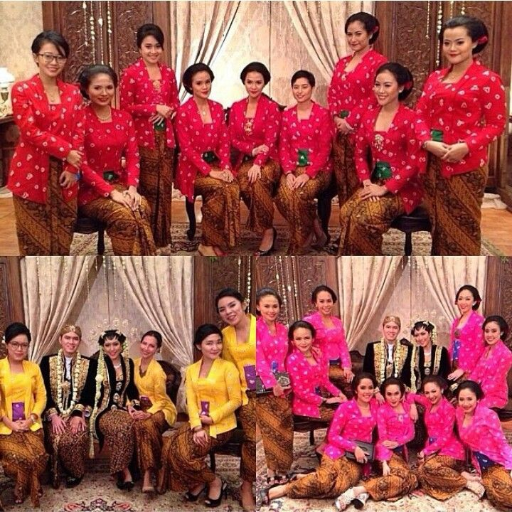 jumputan for bridesmaid