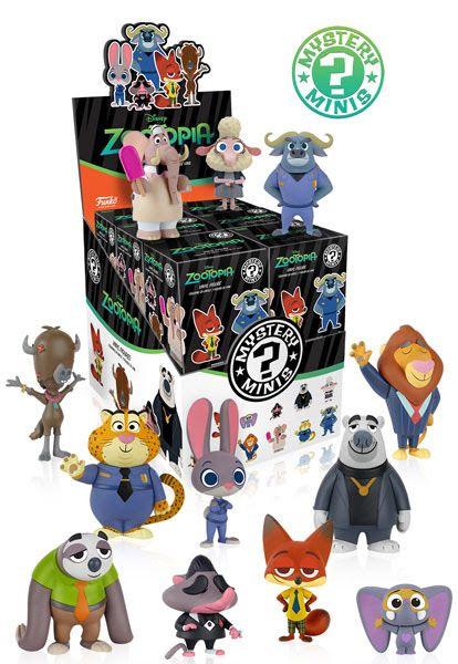 Disney Zootopia Mystery Mini figures by Funko
